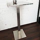 Столик барный из нержавеющий стали, фото 2