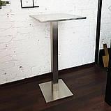Столик барный из нержавеющий стали, фото 5