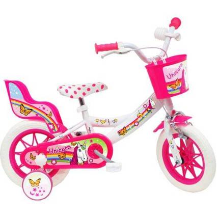 Велосипед DISNEY Unicorn 12 White/Pink