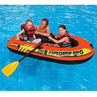 ✅ Intex 58356 (196х102х33 см) Надувная лодка Explorer Pro | Надувний човен Інтекс