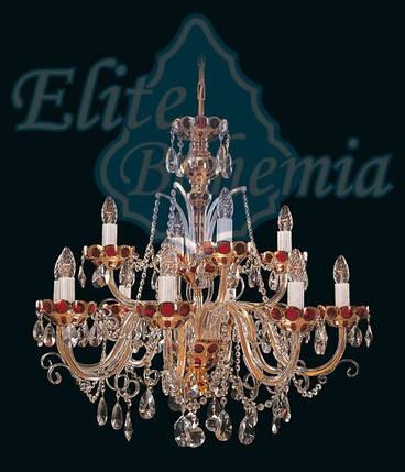 Хрустальная люстра Еlite Bohemia L 542/12/37, фото 2
