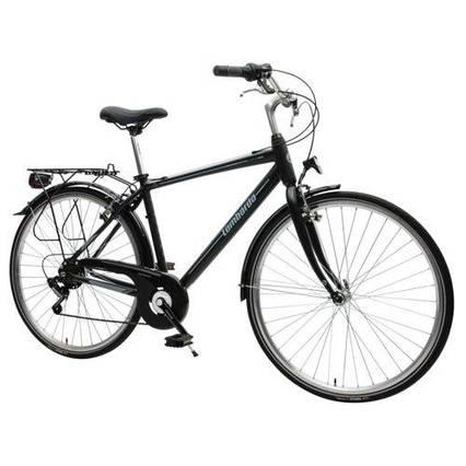 Велосипед LOMBARDO Mirafiori 250 M17 Black/Grey