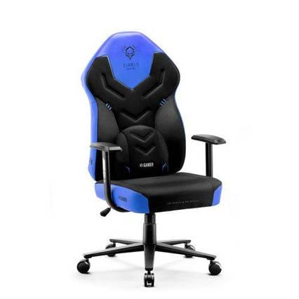 Крісло DIABLO CHAIRS X-Gamer 2.0 L Black and blue