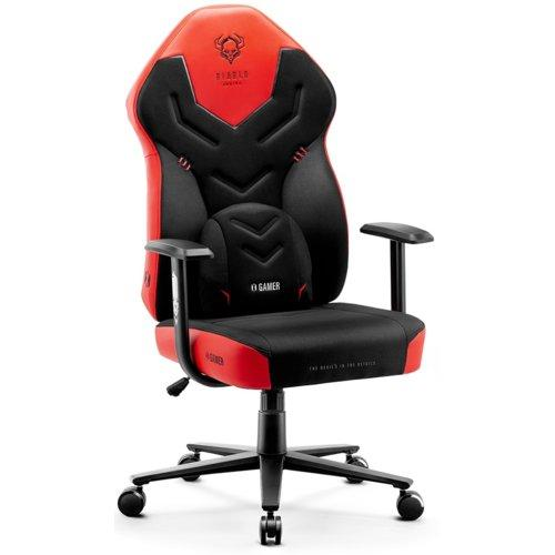 Кресло DIABLO CHAIRS X-Gamer 2.0 L Black and red