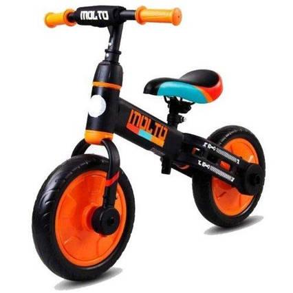 Беговел SUN BABY Molto 3в1 Black and orange