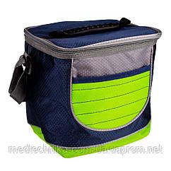 Изотермическая сумка TE-3006, 6 л, салатовая, Time Eco
