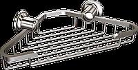 Мыльница металлическая угловая Andex Classic, 018cc