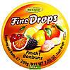 Леденцы Woogie Fine Drops фруктовый микс, 200 г