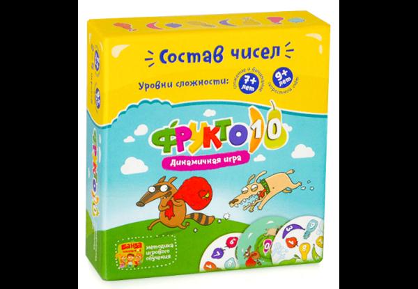 """Настольная игра """"Фрукто 10"""" 7+ и 9+"""