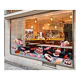 Наклейка на кухню Вінілова плівка Німеччина Морозиво, фото 4