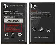 Батарея (акб, аккумулятор) BL3801 для Fly DS105C, DS105D, DS105D+, DS115 (1000 mah), оригинал