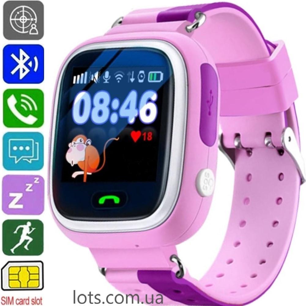 Смарт-часы детские ATRIX SW iQ400 Touch (GPS + SIM) Pink - Умные Часы