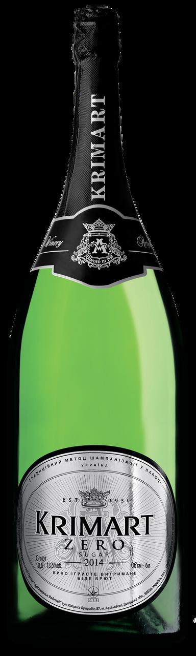 KRIMART біле брют зеро вино ігристе 6 л