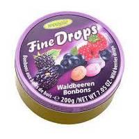 Льодяники Woogie Fine Drops Waldbeeren ягоди, 200 g