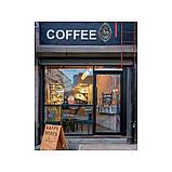 Наклейка на кухню Вінілова плівка Німеччина Coffee to go, фото 2