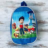 Детский рюкзак для мальчика щенячий патруль (мегащенки)