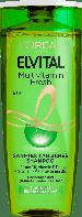 Освежающий шампунь L'Oréal Paris Elvital Multivitamin Fresh, 250 мл.
