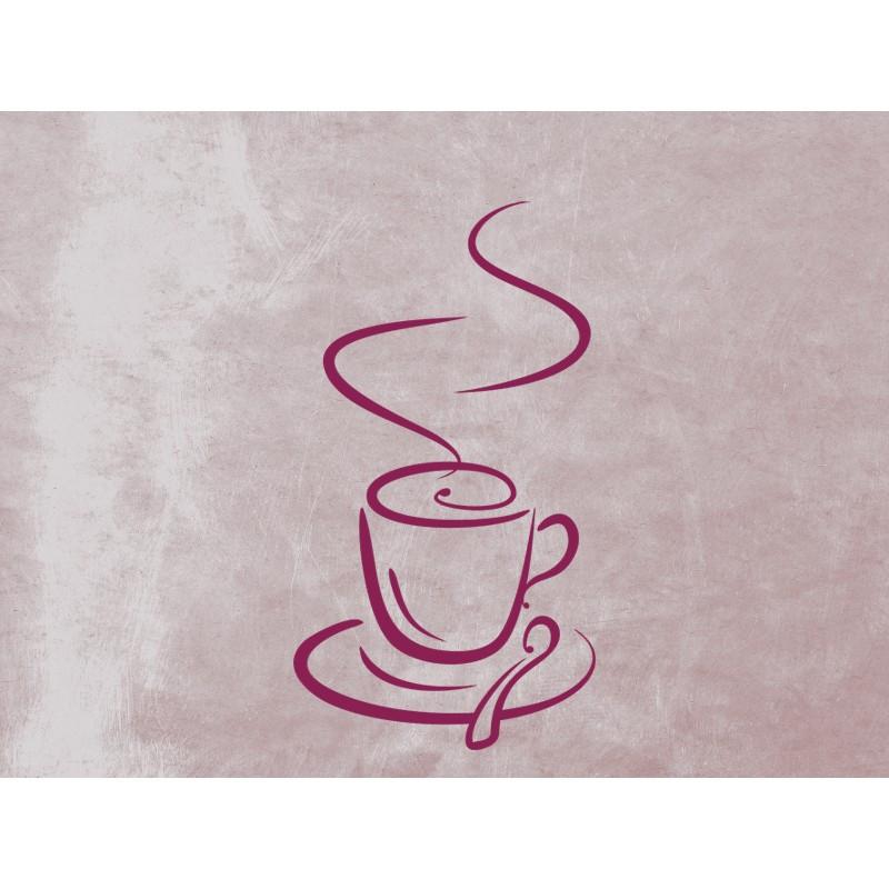 Наклейка на кухню Вінілова плівка Німеччина Coffee