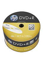 DVD+R HP (69305 /DRE00070-3) 4.7GB 16x, без шпинделя, 50 шт