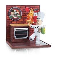 Игровая коллекционная фигурка Jazwares Roblox Desktop Series Work At A Pizza Place: Fired W6