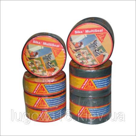 Битумная лента  самоклейкая армирующая  для швов,стыков,трещин / 10м x50мм и другие,  серая-Sika MultiSeal T