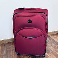 Дорожний чемодан Wings тканевый на 2 колесах 35 л маленький, фото 1