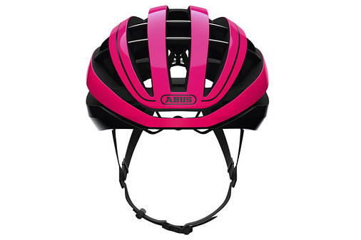 Шолом велосипедний ABUS AVENTOR L 57-61 Fuchsia Pink, фото 2