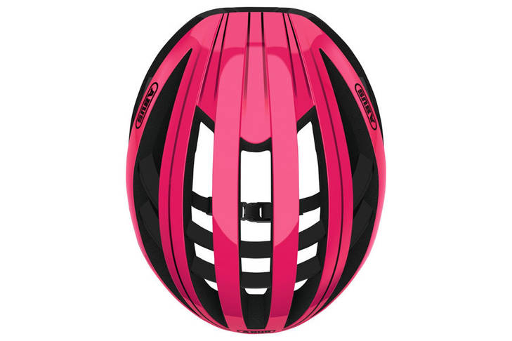 Шолом велосипедний ABUS AVENTOR L 57-61 Fuchsia Pink, фото 3