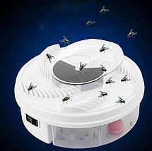 Пастка електрична для комах (мухоловка) USB Electric Fly Trap MOSQUITOES, фото 3