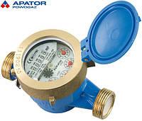 """Счетчик на холодную воду Apator PoWoGaz JM-2,5 (ХВ) Ду15 мокроход одноструйный класс """"С"""""""