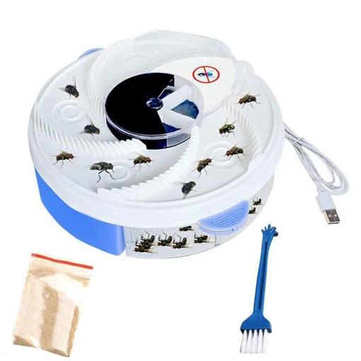 Пастка електрична для комах (мухоловка) USB Electric Fly Trap MOSQUITOES