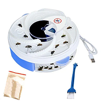 Ловушка электрическая для насекомых (мухоловка) USB Electric Fly Trap MOSQUITOES