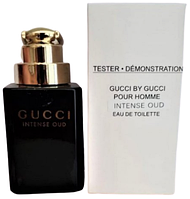 Тестер туалетной воды Gucci Intense Oud (Унисекс) - 90 мл