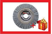 Щетка дисковая пиранья Pilim - 125 х 12 х 22 мм х P80, серая