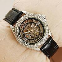 Часы женские наручные Omega Women Silver/Black