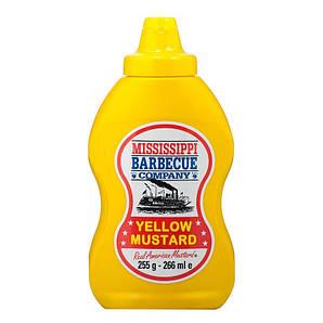 Гірчиця Mississippi Yellow Mustard, 255г, 12шт/ящ