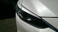 Реснички на фары Mazda 6 (2013+)
