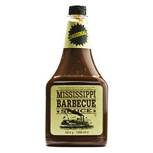Соус BBQ Mississippi Original, 510г, 6шт/ящ