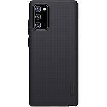 Nillkin Samsung Galaxy Note 20 Super Frosted Shield Black Чехол Накладка Бампер