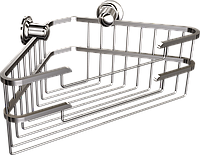 Полка металлическая угловая Andex Classic, 038cc, фото 1