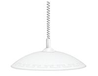Люстра, подвесной светильник Греция 26070 Е27 d400 белый