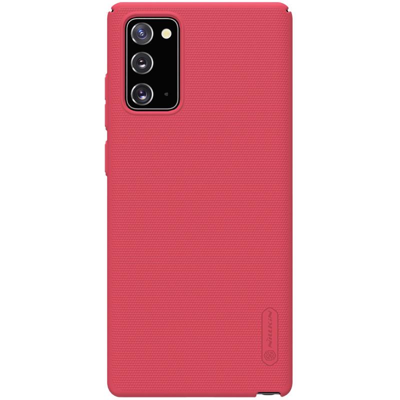 Nillkin Samsung Galaxy Note 20 Super Frosted Shield Red Чохол Накладка Бампер