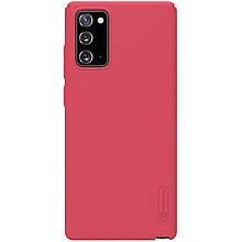 Nillkin Samsung Galaxy Note 20 Super Frosted Shield Red Чехол Накладка Бампер