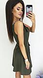 Платье без рукава, практичный вариант для школьного сезона, разные цвета, р.42,44,46 Код 240Э, фото 10