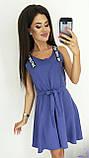 Платье без рукава, практичный вариант для школьного сезона, разные цвета, р.42,44,46 Код 240Э, фото 4
