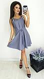 Платье без рукава, практичный вариант для школьного сезона, разные цвета, р.42,44,46 Код 240Э, фото 5