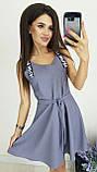 Платье без рукава, практичный вариант для школьного сезона, разные цвета, р.42,44,46 Код 240Э, фото 6