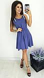 Платье без рукава, практичный вариант для школьного сезона, разные цвета, р.42,44,46 Код 240Э, фото 2