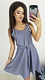 Платье без рукава, практичный вариант для школьного сезона, разные цвета, р.42,44,46 Код 240Э, фото 7