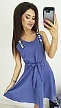 Платье без рукава, практичный вариант для школьного сезона, разные цвета, р.42,44,46 Код 240Э, фото 3